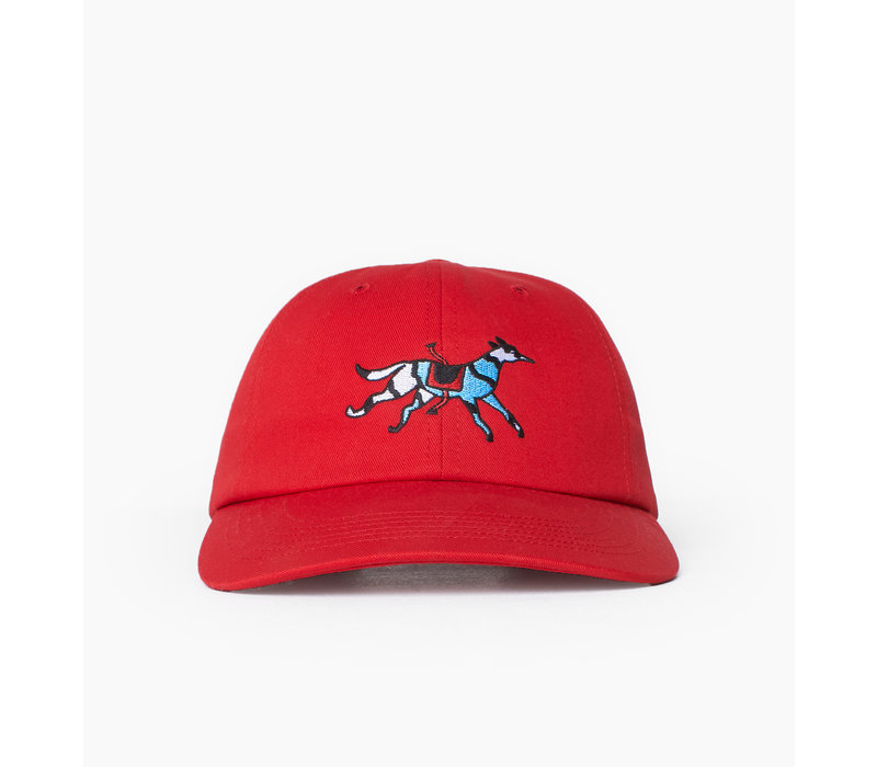 RUNAWAY HORSE HAT RED