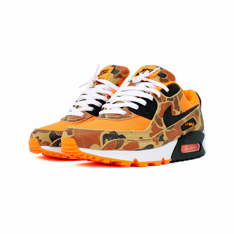 NIKE NIKE AIR MAX 90 SP DUCK CAMO/TOTAL ORANGE