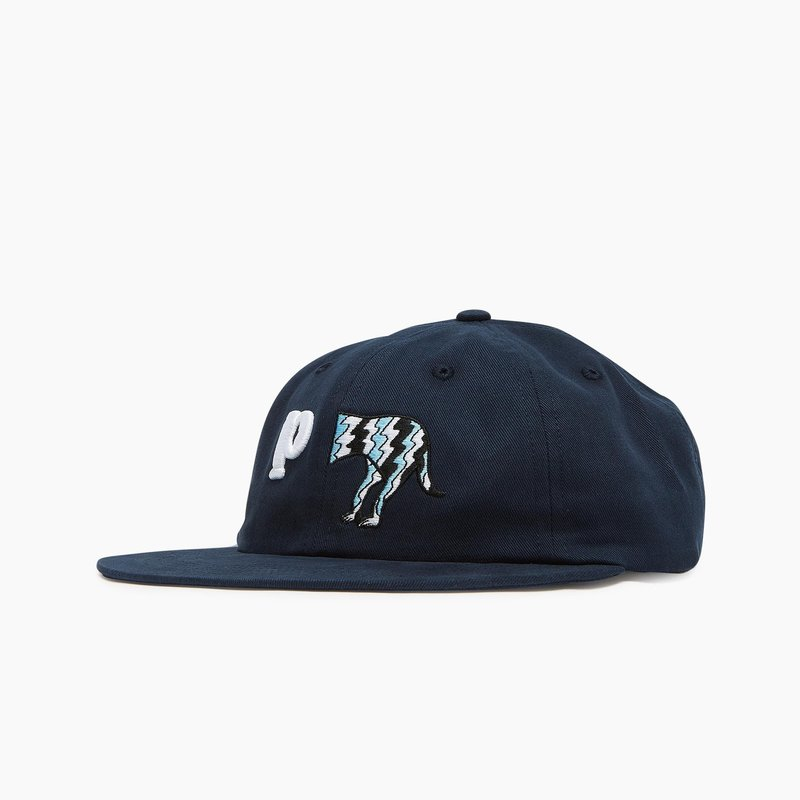 BY PARRA DOG TAIL 6 PANEL HAT