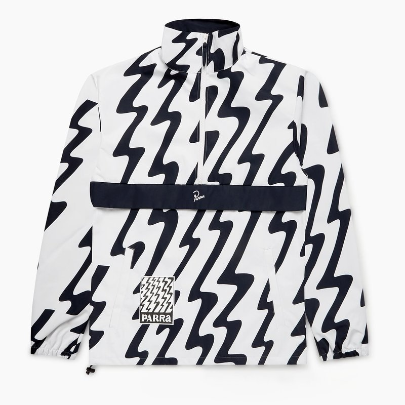 BY PARRA STATIC WHITE JACKET