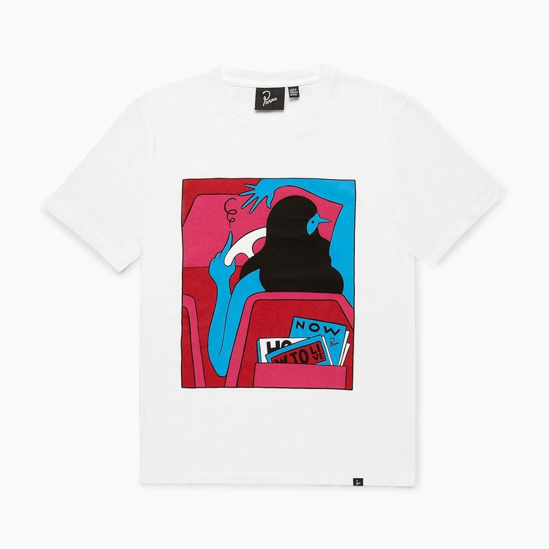 BY PARRA HOW TO LIVE NOW T-SHIRT