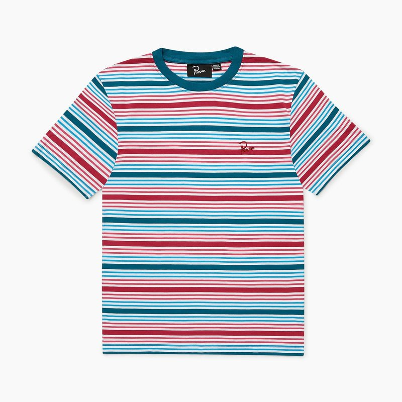 BY PARRA STRIPED T-SHIRT