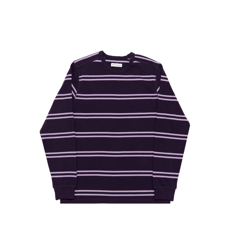 POP TRADING COMPANY STRIPED LONGSLEEVE