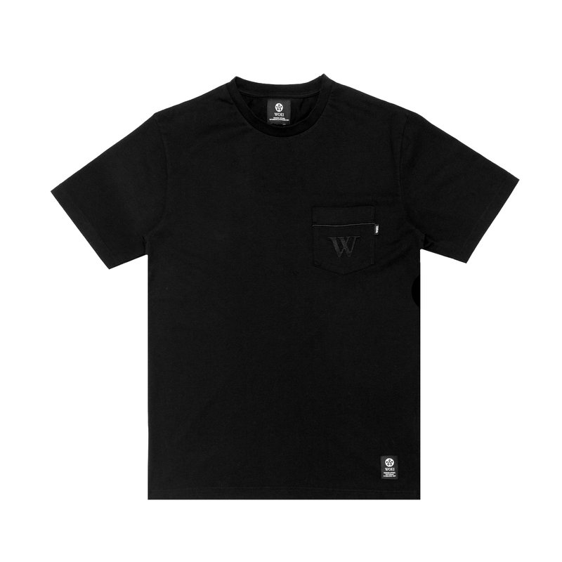 "WOEI POCKET T-SHIRT ""W"""