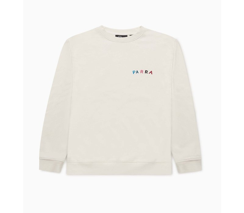FONTS ARE US CREW NECK SWEATER
