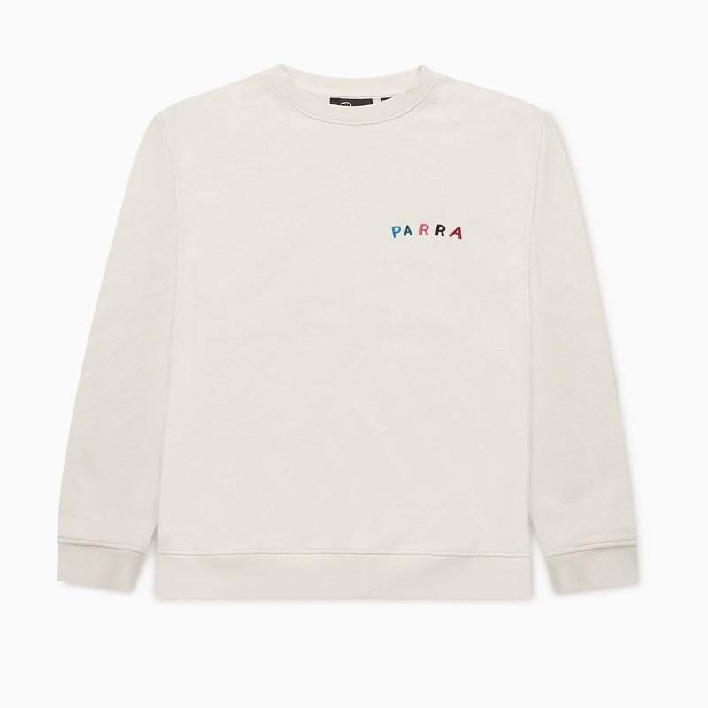 BY PARRA FONTS ARE US CREW NECK SWEATER