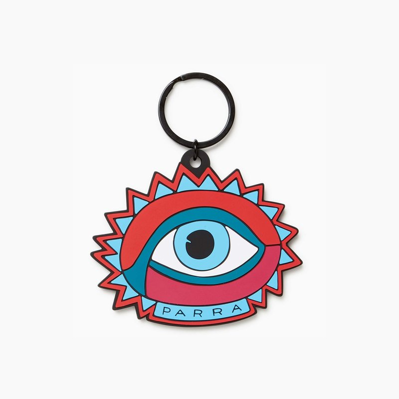 BY PARRA OPEN EYE KEY CHAIN
