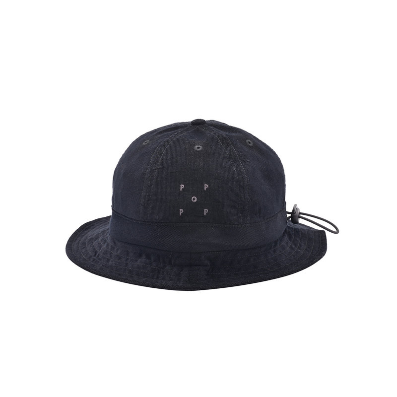 POP TRADING COMPANY POP TRADING COMPANY BELL HAT BLACK
