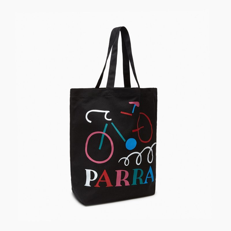 BY PARRA BY PARRA BROKEN BIKE TOTE BAG