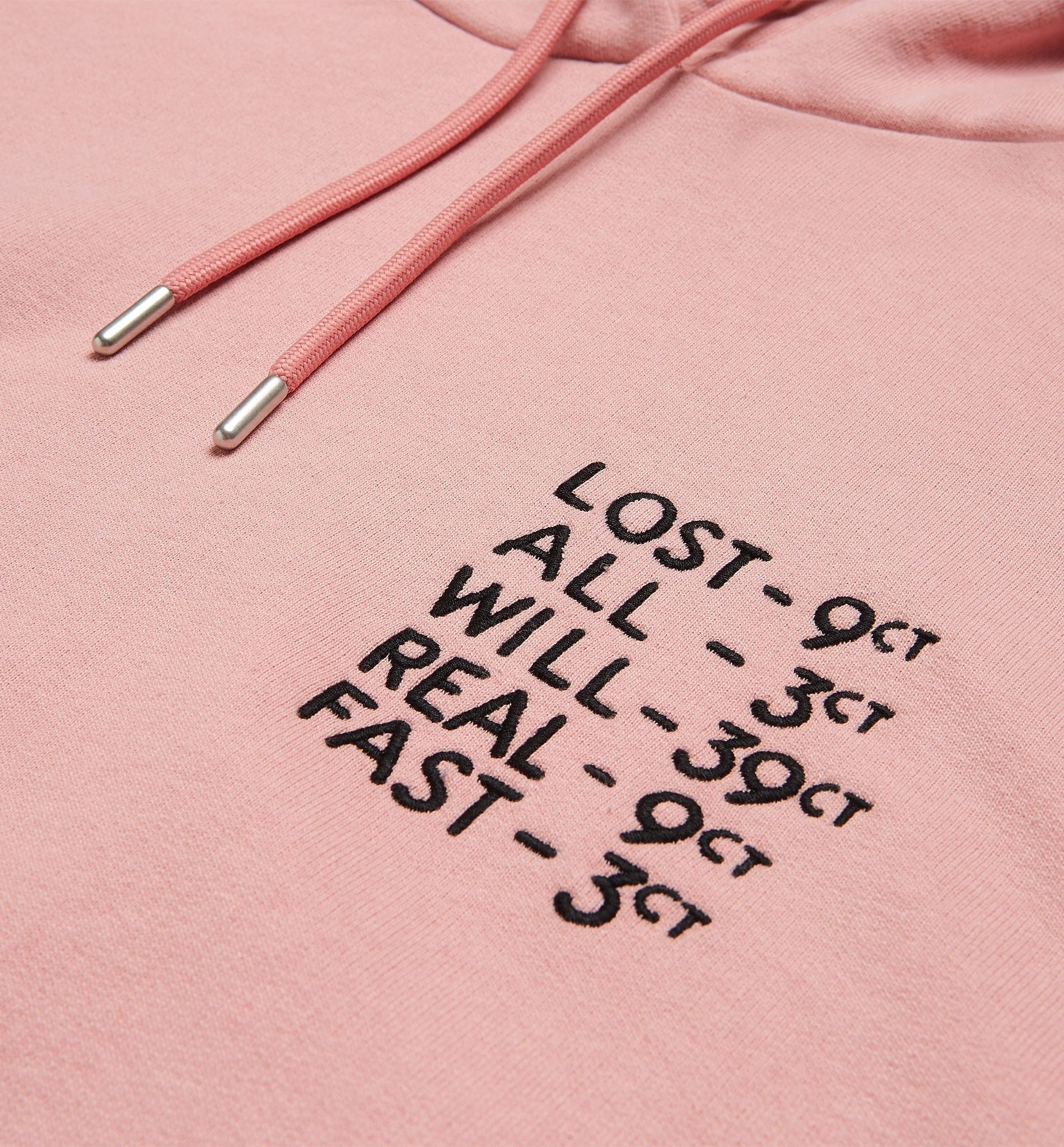 BY PARRA LOST ALL WILL FAST PINK HOODIE 44460 WOEI