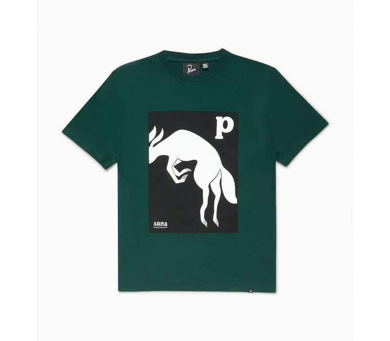 BY PARRA THE BROWN FOX T-SHIRT
