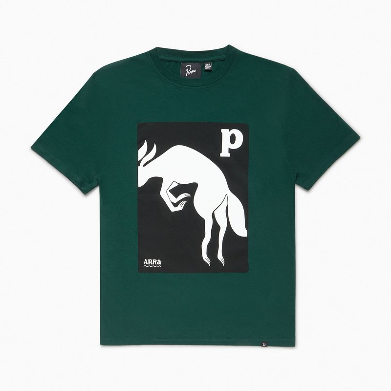 BY PARRA BY PARRA THE BROWN FOX T-SHIRT