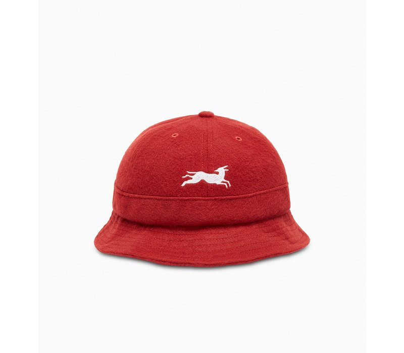BY PARRA JUMPING FOX BELL BUCKET HAT