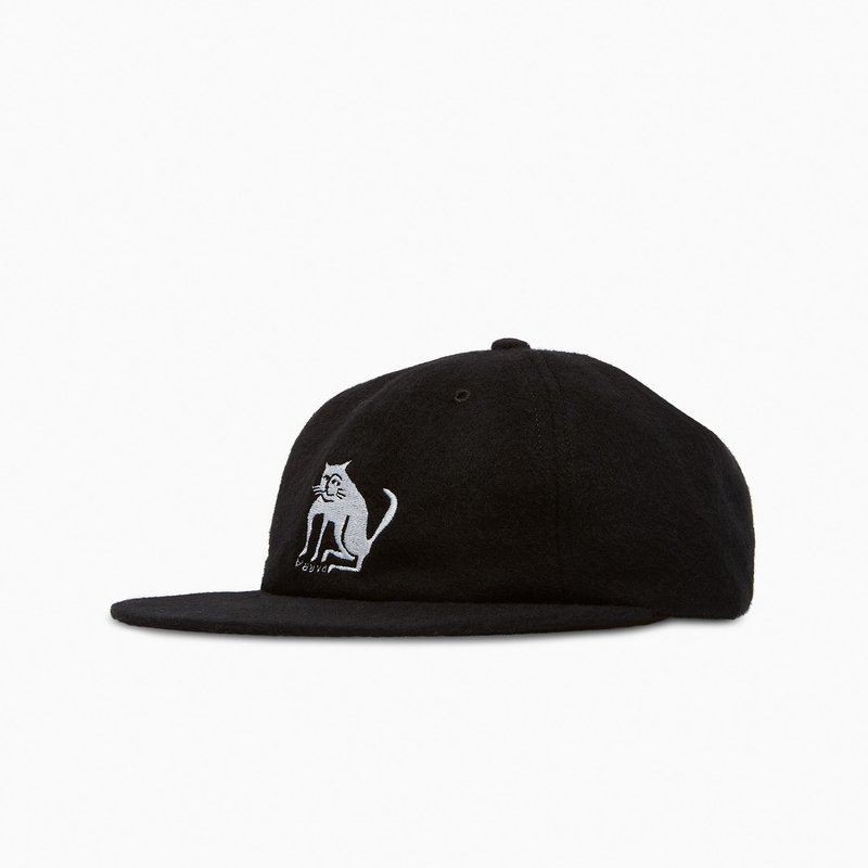 BY PARRA BY PARRA CAT WOOL 6 PANEL HAT