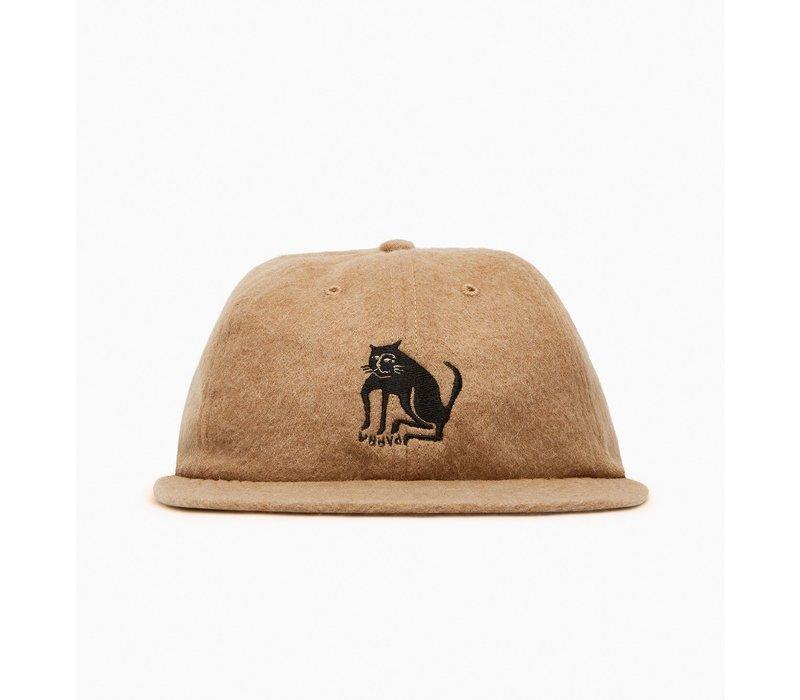 BY PARRA CAT WOOL 6 PANEL HAT