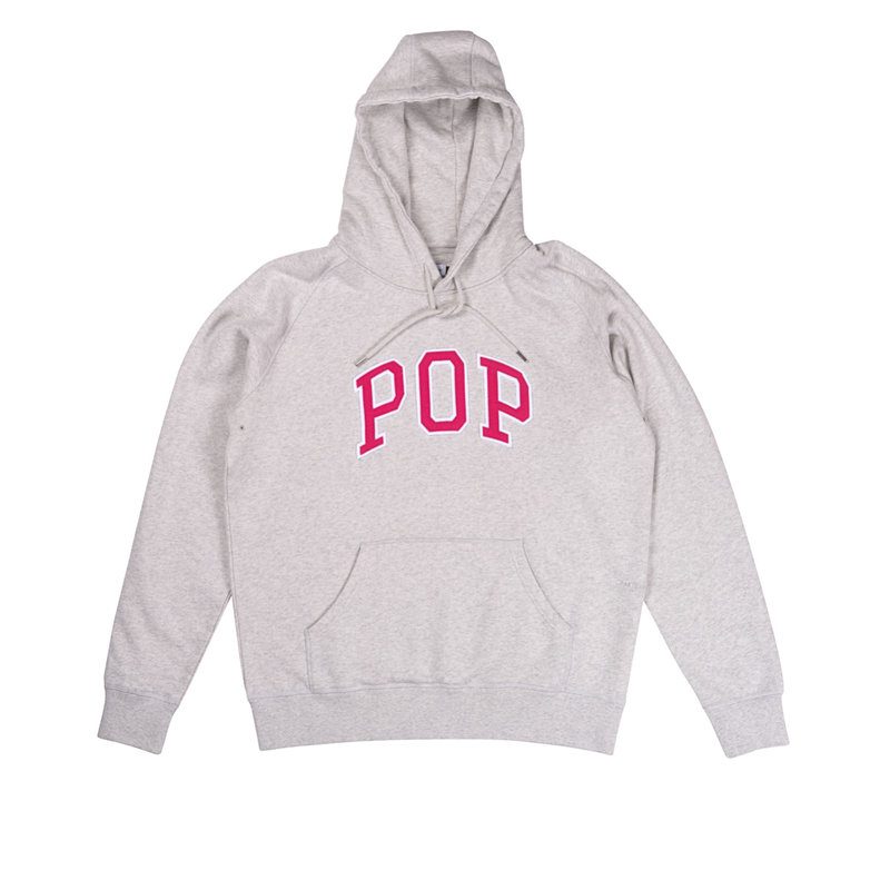 POP TRADING COMPANY HOODED SWEAT ARCH