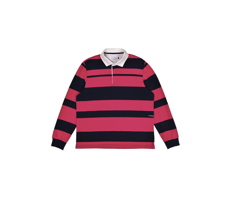 RUGBY POLO STRIPED