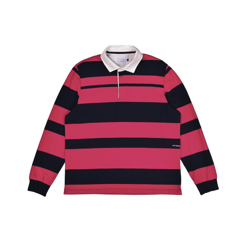 POP TRADING COMPANY RUGBY POLO STRIPED