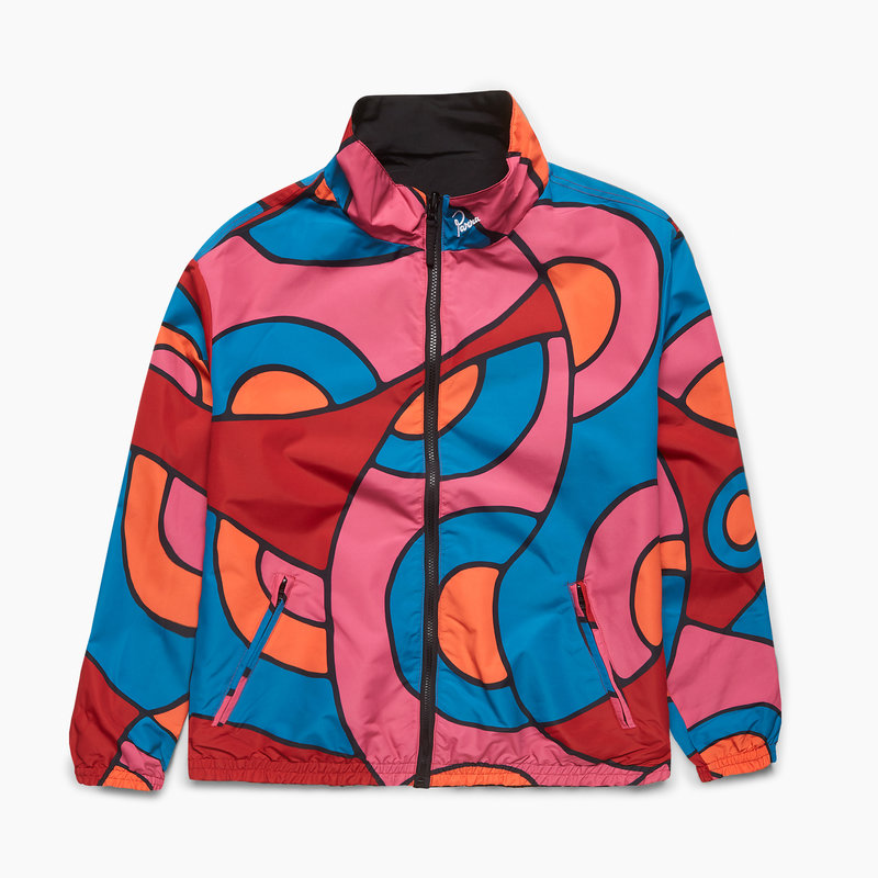 BY PARRA BY PARRA SERPENT PATTERN TRACK TOP