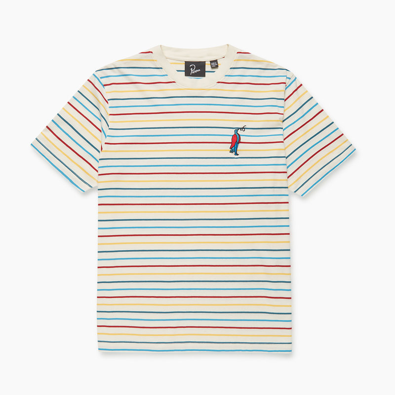 BY PARRA BY PARRA STARING STRIPED T-SHIRT 45150