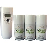 thumb-Flybusters LCD Dispenser Starter Set avec 3 recharges-1