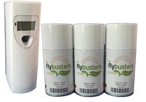 Flybusters LCD Dispenser Startersset incl. 3 vullingen