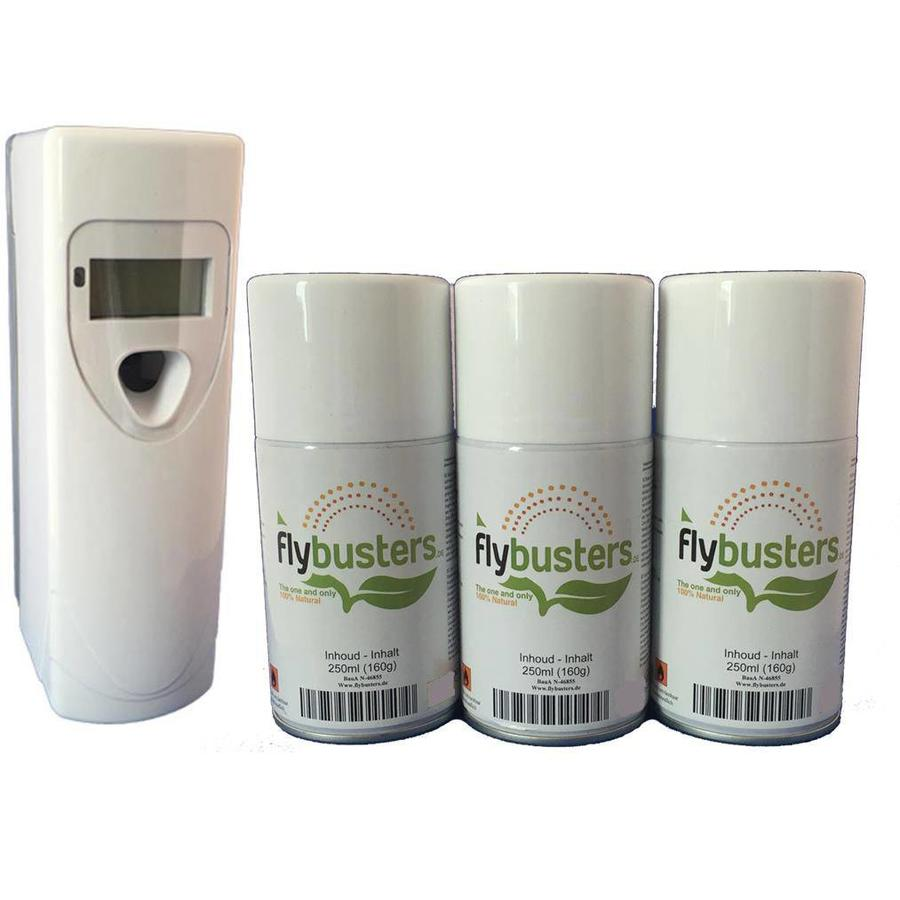 Flybusters LCD Dispenser Starter Set avec 3 recharges-1