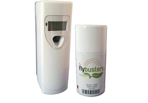 Flybusters LCD Dispenser Starter Set avec 1 recharge