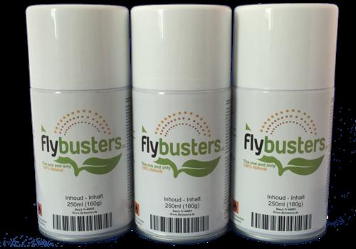 3 Füllungen 250ml Flybusters Spray
