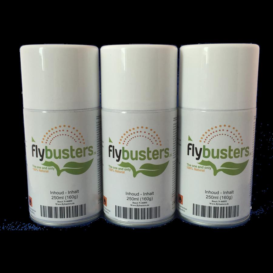 3 navullingen Flybusters spray (250 ml)-1