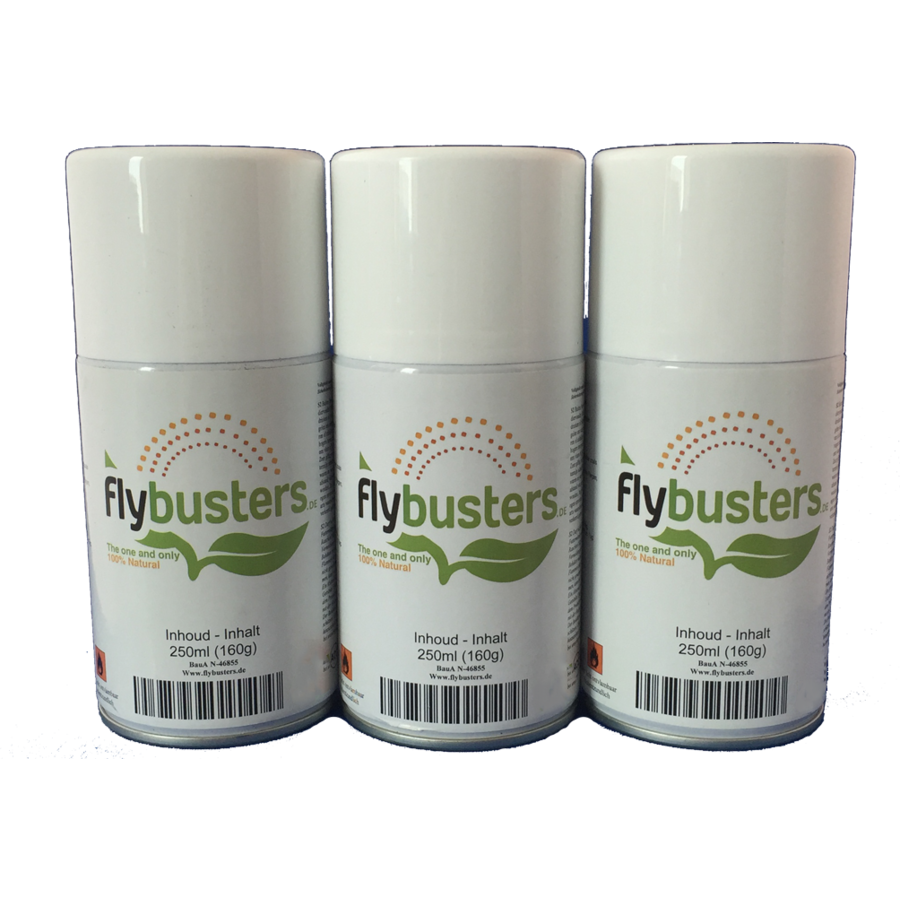 3 refills Flybusters Spray (250 ml)-1
