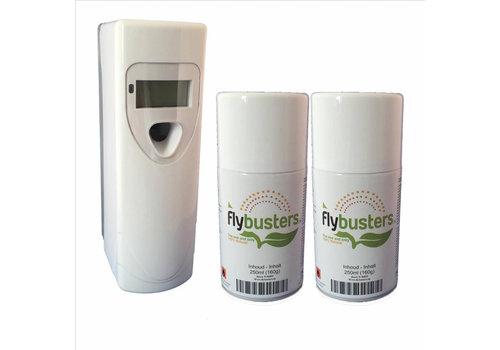Flybusters LCD Dispenser Startersset incl. 2 vullingen