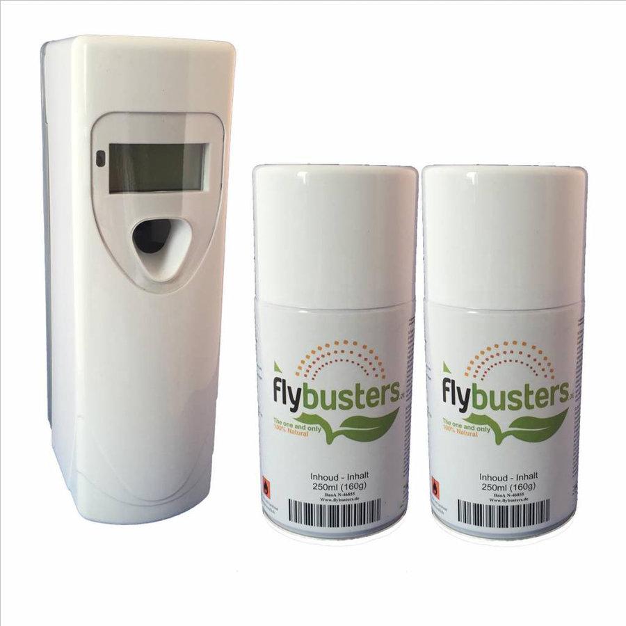 Flybusters LCD Dispenser Startersset incl. 2 vullingen-1