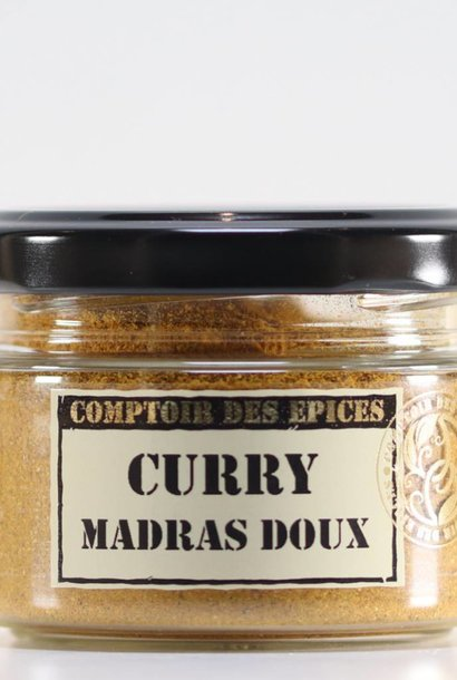 Curry de Madras doux