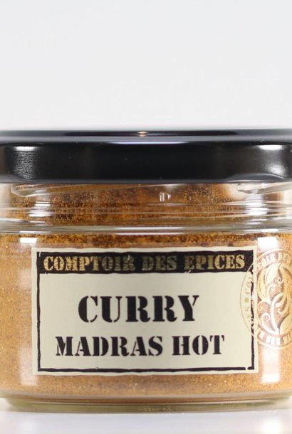 Curry de Madras fort