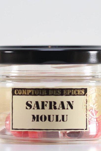 Safran d'Iran moulu