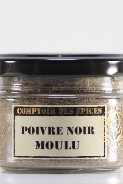 Poivre noir mouture fine sarawak moulu