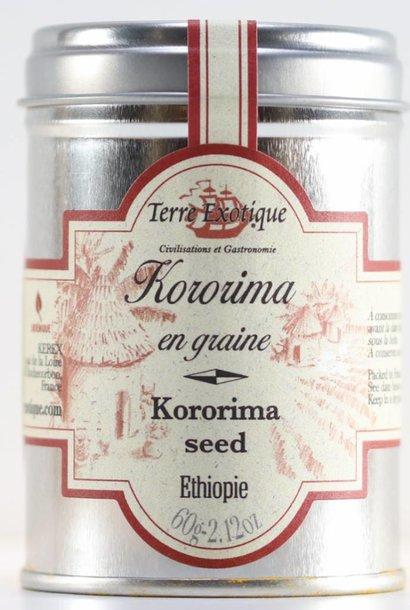 Kororima, graines de Paradis, 60 g