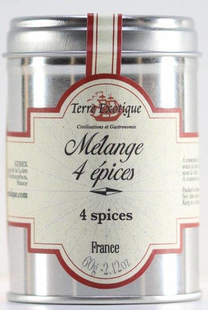 Mélange 4 épices 60 g