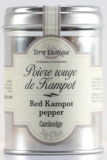 Poivre de Kampot rouge, 50 g