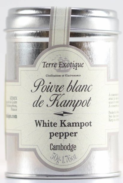 Poivre de Kampot, blanc, 50 g
