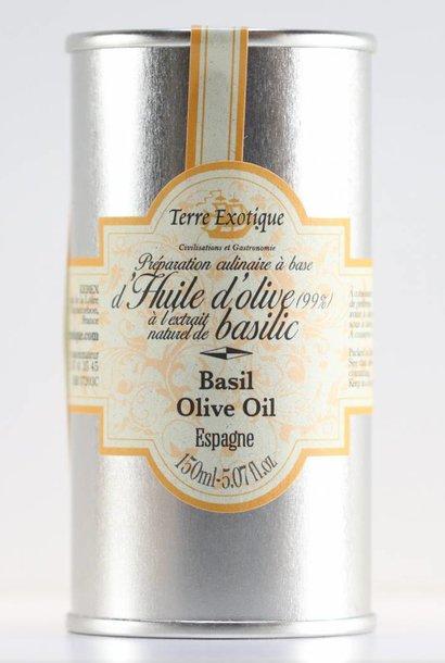 Huile d'olive au basilic, 0.15 l