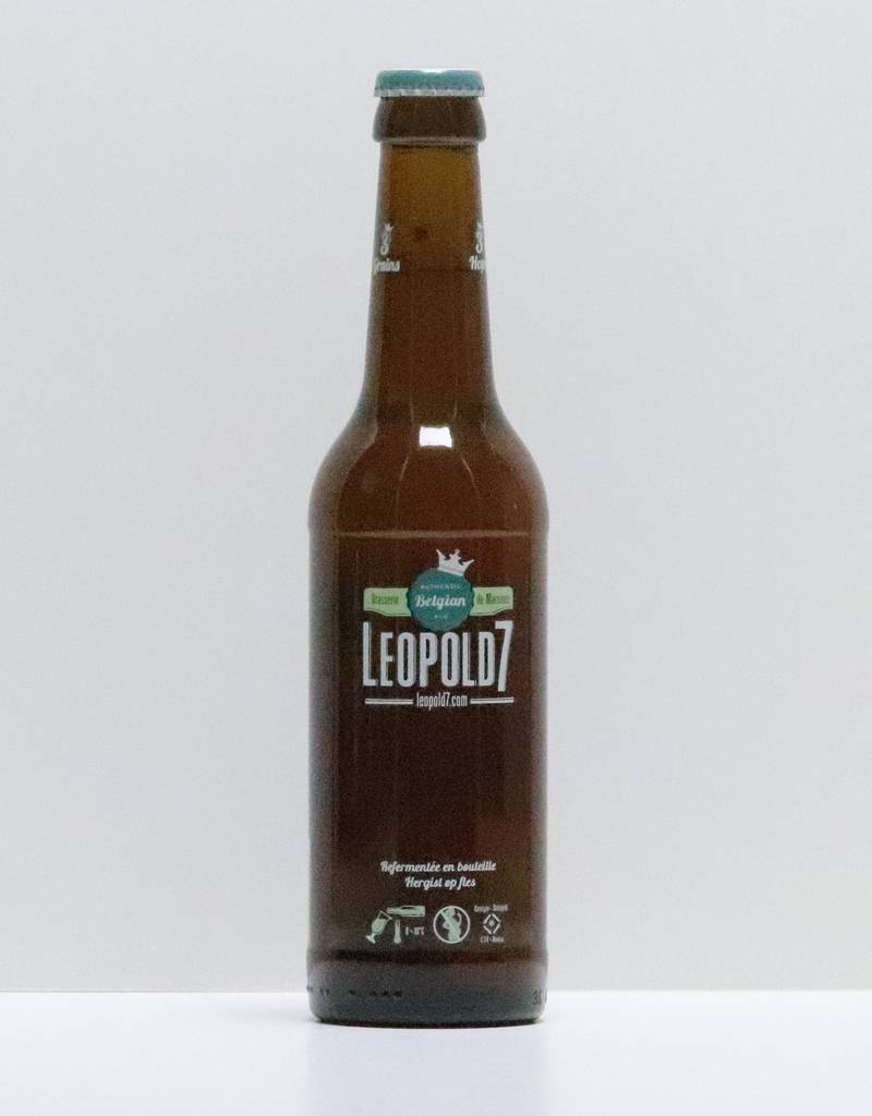 Bière Leopold Blonde 330 ml-1