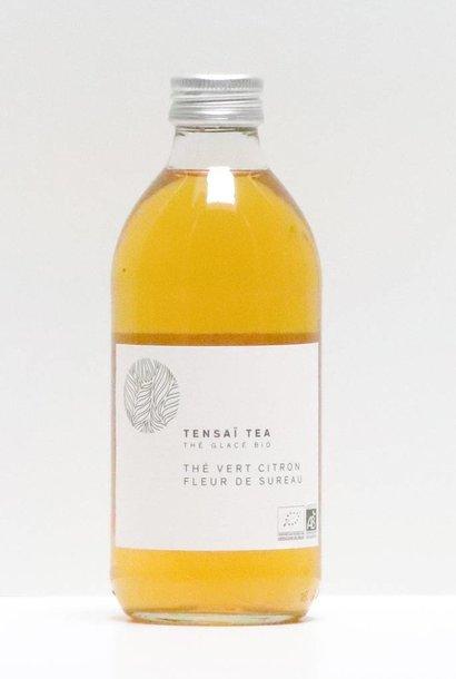 TENSAÏ TEA - thé vert citron & fleur de sureau 330 ml