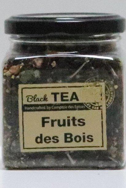 Thé noir des sous bois O. Pekoe, (Fruits des Bois, Vanille, …)