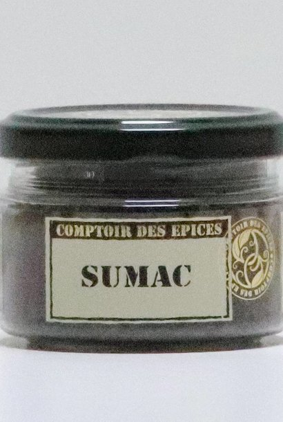 Sumac (baies moulues - Turquie)