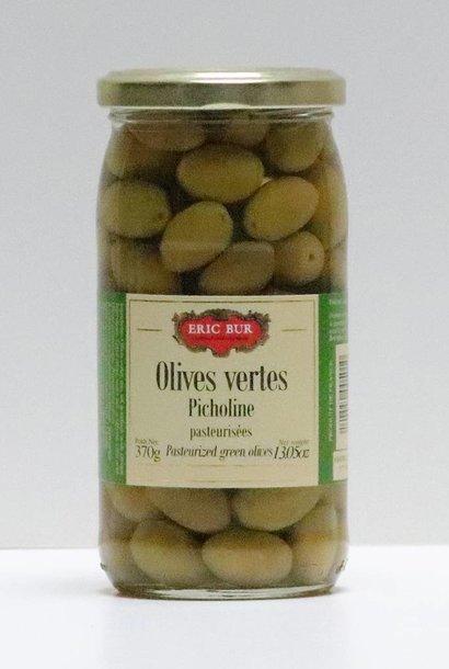 Olives vertes picholines 200G