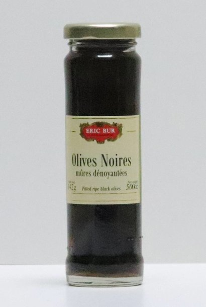 OLIVES NOIRES MURES DENOYAUTEES 70G