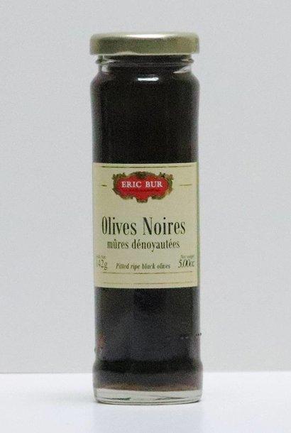 Olives noires mures dénoyautées 70G