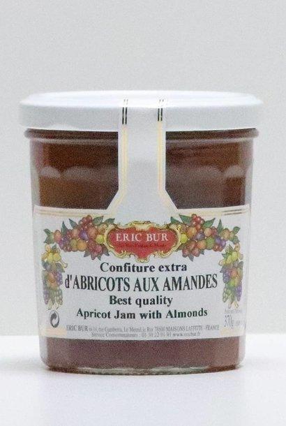 Confiture abricot amandes 370G